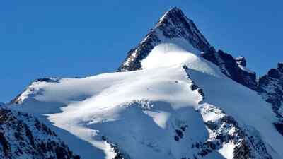 Der Großglockner - höchster Berg in Österreich