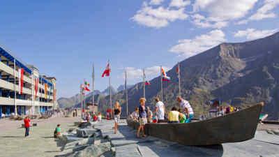 Familienzeit auf der Kaiser-Franz-Josefs-Höhe