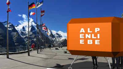 Biwak Alpenliebe Kunstausstellung
