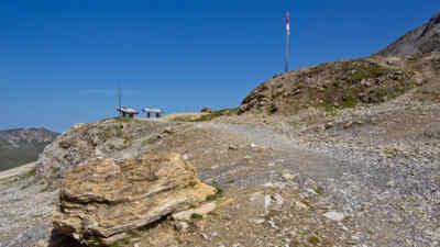 Gamsgrubenweg mit Alpenpanorama