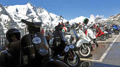 Erleben Sie die Vespa Alp Days