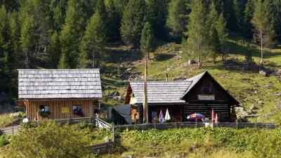 Priesshütte, Nockalmstraße in Österreich