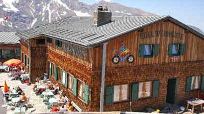 Der Berggasthof Edelweiss Hütte